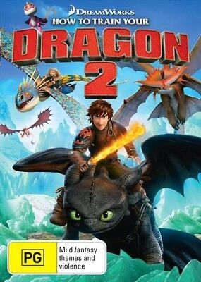 How To Train Your Dragon 2 (Dvd, 2014) 🍿 [Brand New & Sealed]