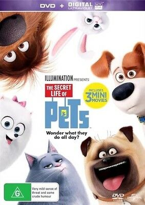 The Secret Life Of Pets (Dvd, 2016) 🍿 [Brand New & Sealed]
