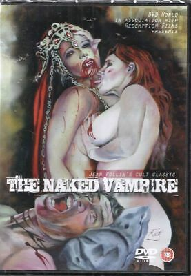 The Naked Vampire - Dvd **Used Very Good** Free Post**