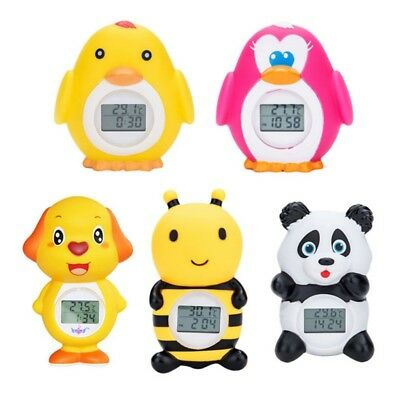 Baby Bath Thermometer Floating Bath Toy Bathtub Safety with Temperature Alarm