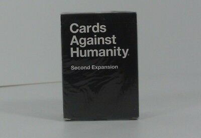 Cards Against Humanity second Expansion Pack 100 Cards 12 Bonus Blank Cards New