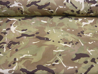 5mts  ERIBIS CAMOFLAGE HEAVY CORDURA WATER REPELLENT FABRIC 150cms WIDE