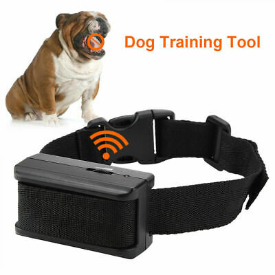 2018 Auto Anti Bark Collar Stop Dog Barking Waterproof Rechargeable Shock/Safe