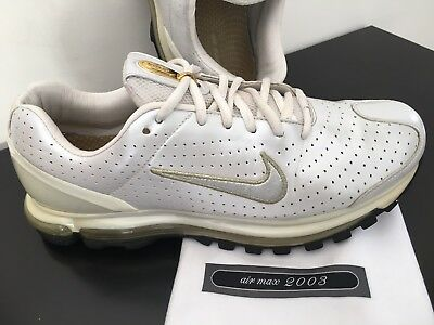 NIKE AIR MAX 2003 original Vintage rare white gold EUR 140