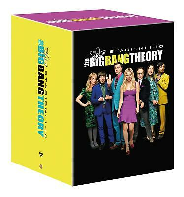 The Big Bang Theory - Stagioni Da 1 A 10 (31 Dvd) Cofanetto Unico, Italiano, Nuo