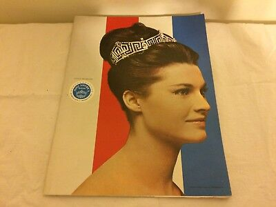 1967 Preliminary Miss America Pageant Program Shelby NC