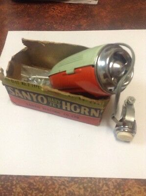 Sanyo Baby Jet Horn 1960's Bicycle Horn
