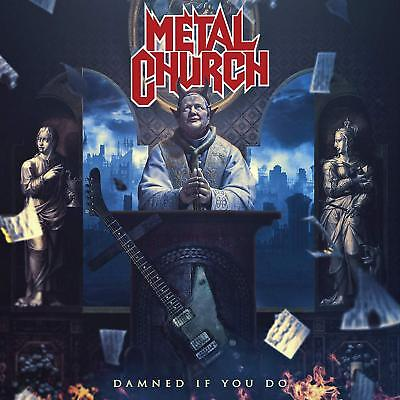 Damned If You Do by Metal Church Rat Pak Records Audio CD FREE SHIPPING NEW