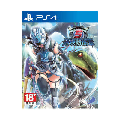 Earth Defense Force 5 PlayStation PS4 2018 English Chinese Factory Sealed