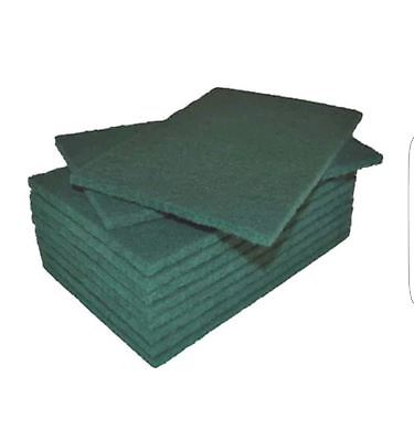 Green Scouring Pads Heavy Duty Cleaning Scrubbing Pads Scourers comfy clean pads