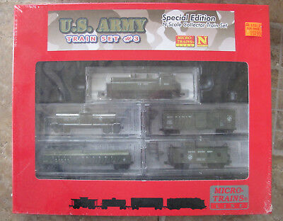 New Sealed Micro-Trains Line N Gauge Special Edition U.s.army Train Set #3
