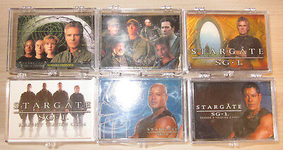 Stargate  SG1  -  6 x Trading Cards Basis Sets  -  Rittenhouse 2001 - 2007