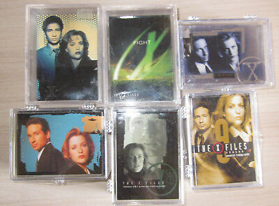 Akte X - The X-Files  - 6 Trading Card Sets  Topps/Inkworks