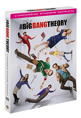 The Big Bang - Stagione 11 (3 Dvd) Italiano, Nuovo
