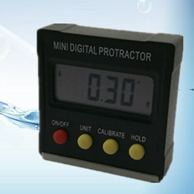 Angle Detector LCD Display Digital Protractor Accuracy Mini General Tools