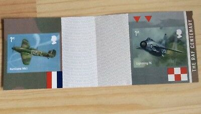2018-RAF CENTENARY. Stamps from Booklet. MINT