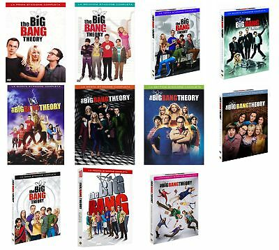 The Big Bang Theory - Stagioni Da 1 A 11 (34 Dvd) Cofanetti Singoli, Nuovi, Ital