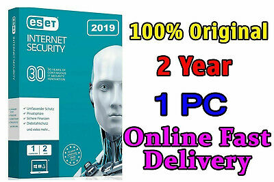 ESET Internet Security 2019/22 01 PC/3 Year ( 1095 days ) / 1 PC 03 Full Years