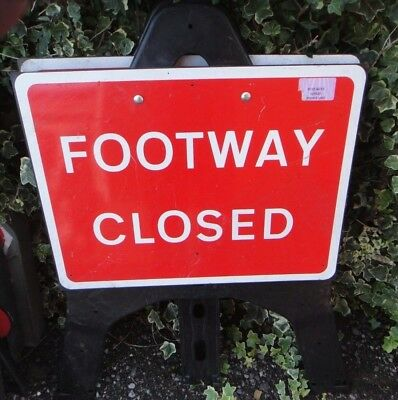 Traffic Management Signs Footway Closed