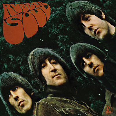 """The Beatles Rubber Soul Poster 32x32"""" 24x24"""" Album Cover Fabric Print"""