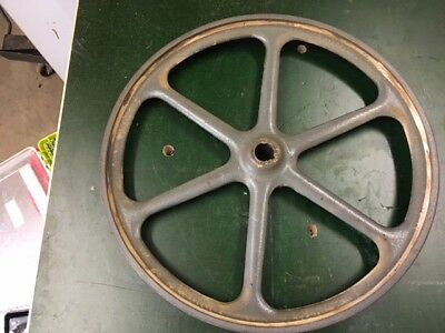 """Delta Rockwell 14"""" cast iron Band Saw Lower Wheel Bandsaw"""