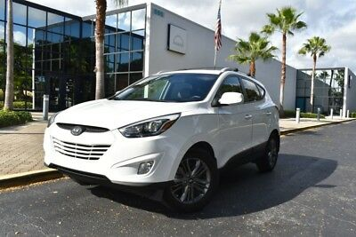 2014 Hyundai Tucson TUSCON, BACKUP CAMERA, BLUETOOTH, POWER LUMBAR, CL 2014 Hyundai Tucson SE 68,800 Miles Winter White Sport Utility 4 Cylinder Engine