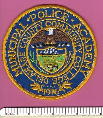Delaware County Municipal Police Academy Pennsylvania State PA Shoulder Patch