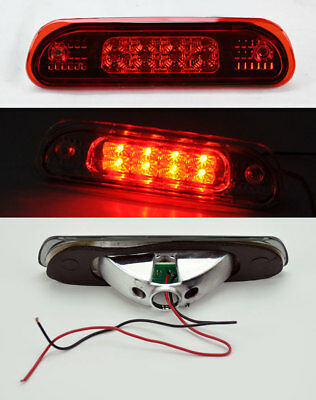All Red Rear 3rd Third LED Brake Light for Jeep Grand Cherokee 1999-2004