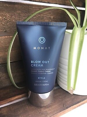 BLOW OUT CREAM (4 OZ)  Monat infused with Rejuvenique Full Size New Sealed