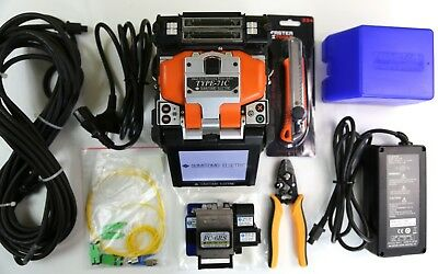 SUMITOMO TYPE-71C SM MM FIBER FUSION SPLICER ARC ONLY 572 with cleaver FC-6RS