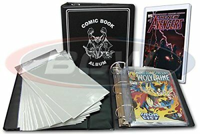 BCW Comic Book Collector Starter Kit (Comes with Album, Pages, Bags, Backing ...