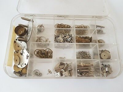 Assorted Clock Parts Le Coultre 304 (SMITH MA) Aircraft Clock Parts
