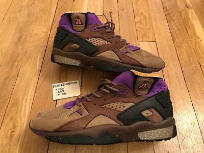 brand new 0668d a9a57 Nike Air Mowabb ACG 1991 OG Vintage Mens US 11 brown purple VNDS Revaderchi  USED