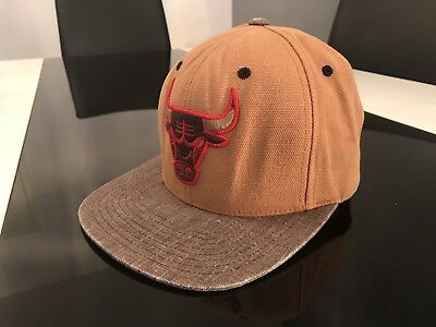 MITCHELL & NESS Basketball FAN Cap NY CHICAGO BULLS Fullcap NBA HIP HOP Snapback