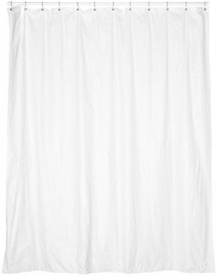 Carnation Home Fashions 72 Wide By 78 Inch Long Vinyl Shower Curtain Liner W
