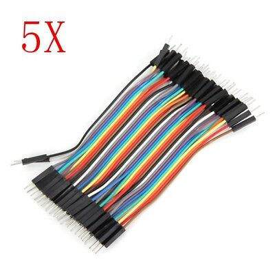 200pcs 10cm Male To Male Jumper Cable Dupont Wire For Arduino