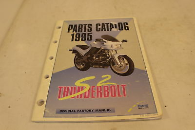 HARLEY DAVIDSON BUELL Thunderbolt S3T Official Parts Book Manual