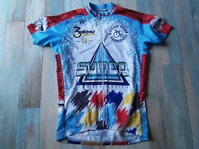 Veste Maillot Cycliste Noret 3 Vallees C.c Ambrieres Taille M/3 Tbe