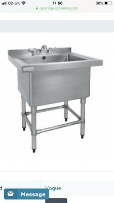 Vogue Stainless Steel Sink