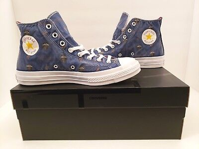 20023fa6ab4 Converse Chuck 70 NBA Franchise Cleveland Cavaliers Blue High Tops Mens  Size 10
