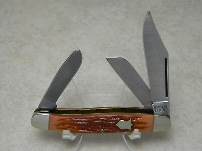Western USA W338 Delrin Stockman Knife