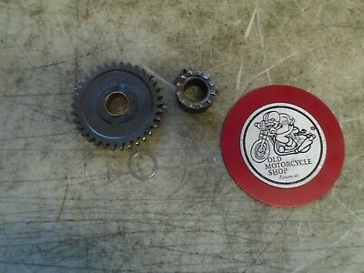 1980 - 1981 Can-Am Qualifier 400 Kicker Gear And Pawl