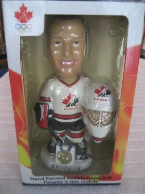 Martin Brodeur Team Canada Olympic Bobble Head Collectible Series
