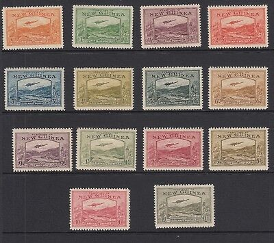 NEW GUINEA 1939 SG 212/25 - lightly mounted MINT Cat £1100