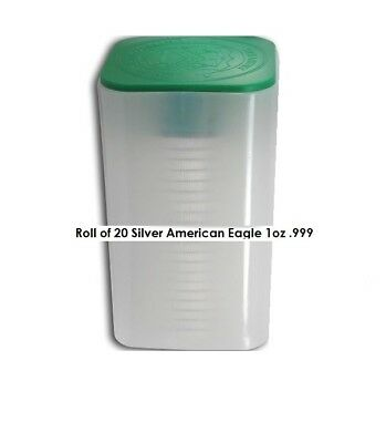 Roll of 20 Silver American Eagle 1oz .999