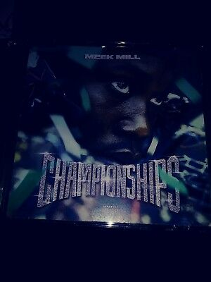 "MEEK MILL ""CHAMPIONSHIPS ""  MIX 2018. HOT!The price is for packaging.cd is free"
