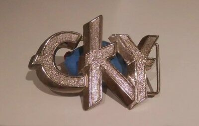 CKY Pewter Belt Buckle Rare OOP Bam Margera HIM ICP Ryan Dunn 90's