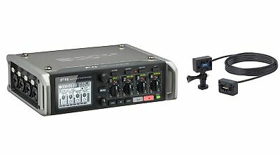 Zoom F4 Field Recorder w/ ECM-6 6-Meter Extension Cable
