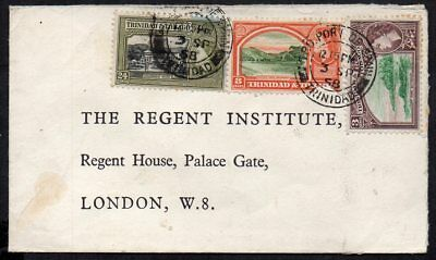 Trinidad & Tobago - 1958 Cover to London - Port of Spain Postmarks