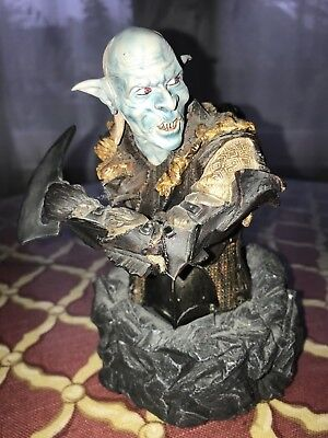 """Gentle Giant Lord of the Rings """"Snaga"""" Limited Edition Mini Bust #699/1500"""